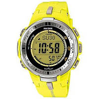 Мужские часы Casio Pro Trek PRW-3000-9B Касио японские кварцевые