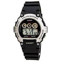 Мужские часы Casio W-214H-1AV Касио японские кварцевые