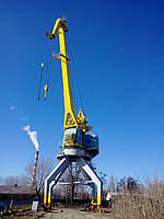 Сварочные работы по восстановлению целостности металлоконструкций портального крана
