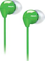Наушники Philips SHE3590GN Green зеленый оригинал Гарантия! (100% ПРЕДОПЛАТА!)