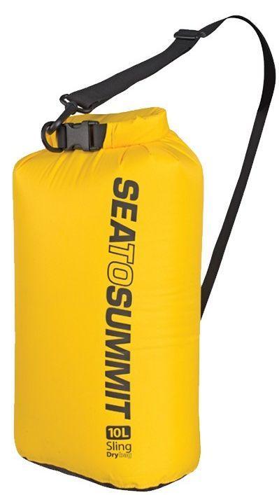 Жовтий гермочехол на 20 літрів Sea To Summit SLING DRY BAG 20L Yellow, STS ASBAG20LYW, 27х17\60 див.