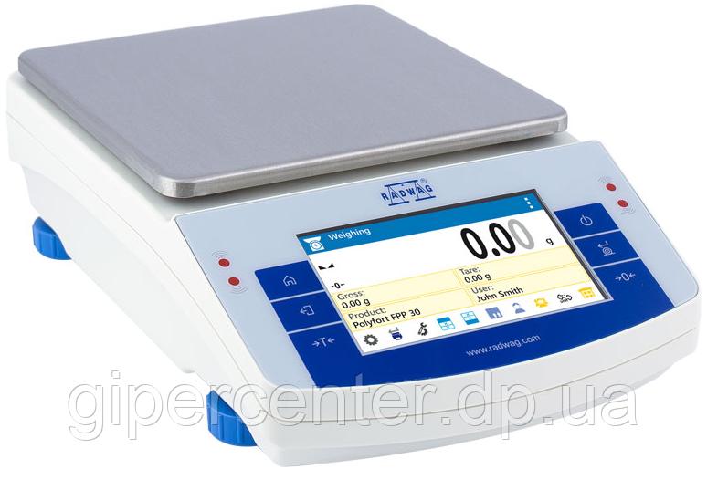Весы лабораторные PS 6000.X2 до 6000 г, дискретность 0.01 г