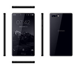 Смартфон Doogee mix 4/64gb Black Helio P25, 2.5GHz, Octa Core 13 Мп + 8 Мп 3380 мАч
