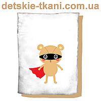 """Панельки из хлопковой ткани """"Бэтмэн"""", размер 75*100 см"""