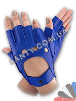 Женские перчатки без пальцев модель 244
