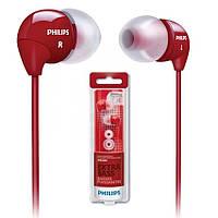 Наушники Philips SHE3590RD Red красный оригинал Гарантия!