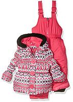 Зимний раздельный комбинезон Pink Platinum(США) для девочки 18мес