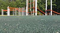 Бесшовное покрытие  15 мм зелёное