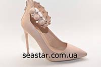 Туфли-лодочки с застежкой вокруг ноги