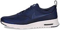 """Женские кроссовки Nike Air Max Thea Premium """"Loyal Blue"""" (найк аир макс) синие"""