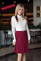 Платье в стиле Gucci с лампасами на рукавах и эмблемой