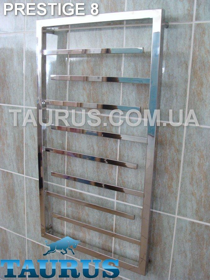 Высокий и узкий современный Prestige 8 /950х400 мм. полотенцесушитель для ванной комнаты. Hich Tech