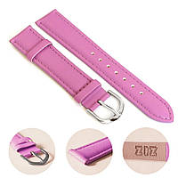 Ремешок для часов дизайнерский фиолетовый, серебро