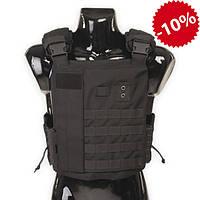 Бронежилет Police Protection Vest Black, для патрульной полиции