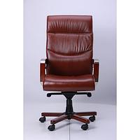 Кресло Монтана НВ, Кожа Коричневая (619-B+PVC) (AMF-ТМ)