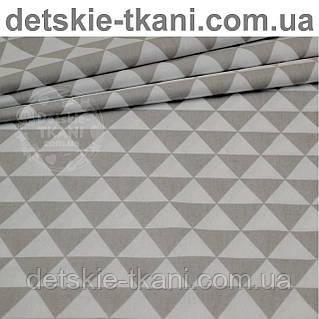 Бязь с серыми треугольниками (№3).