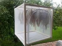 Сушка для рыбы сборно-каркасная, размер 49см Х 49см Х 49 см из Эко-материала