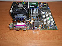Материнская плата ASUS P4P800+P4 2,4+DDR 2Gb комплект