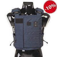Бронежилет Police Protection Vest Navy Blue, для патрульной полиции, фото 1