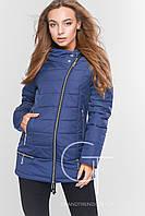 Демисезонная женская  куртка - жилет с капюшоном