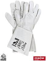 Сварочные перчатки кожаные рабочие длинные REIS (RAW-POL) Польша RSPBSZINDIANEX JS