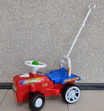 Толокар трактор Alexis-Babymix с родительской ручкой
