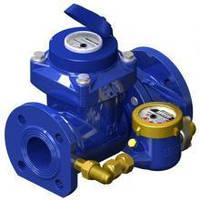 Счетчик воды турбинный комбинированный  WPVD-UA