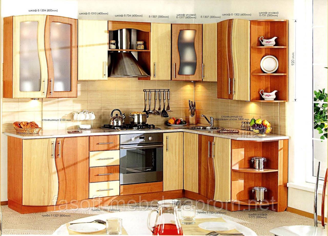 Кухня под заказ МДФ пленочный 020