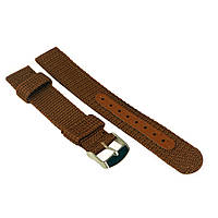 Ремешок для часов нейлоновый коричневый