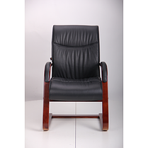 Кресло Монтана CF, Кожа Черная (619-D+PVC) (AMF-ТМ), фото 2