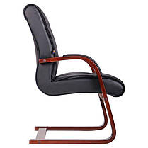 Кресло Монтана CF, Кожа Черная (619-D+PVC) (AMF-ТМ), фото 3