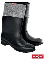 Войлочные ботинки (резиновая обувь зимняя) BF-PCV BS