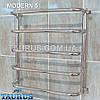 Полотенцесушитель универсальный Modern 5/550х400 мм. Нержавеющая сталь, фото 2