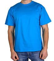 Мужская футболка Атлет синяя