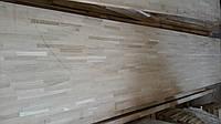 Мебельный щит дубовый узколамельный 35 мм АВ 35*650*3000 мм