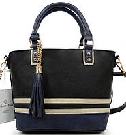 Стильная женская сумочка H9183 CZARNA