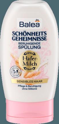 Бальзам - кондиционер для сухих и поврежденных волос Balea Schönheitsgeheimnisse Hafermilch, 200 ml