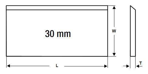 Строгальные (фуговальные) ножи (Германия) -Tersa, Centrolock, Centrostar