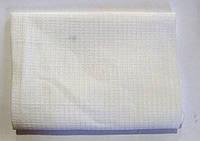 Полотенце вафельное, белое 40/45 х 75 ,(полотенце кухонное), 40/45 х 80