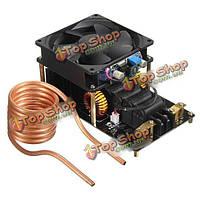 Индукционный нагреватель с вентилятором и катушкой 12-36v 20A 1000w