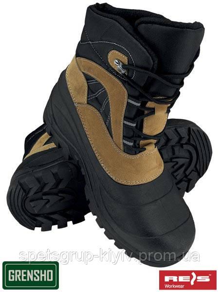 Рабочая зимняя обувь Польша (спецобувь) BSNOW-WOOD BR - Спецгруп Київ в  Киеве c41fafe59f2