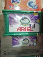 Ariel capsules Тройные капсулы для цветного 36 шт