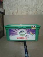 Ariel capsules Тройные капсулы для цветного 28 шт