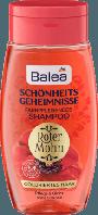Шампунь для окрашенных волос Balea Schönheitsgeheimnisse Roter Mohn, 250 ml