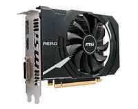 Видеокарта GeForce GTX1050Ti OC, MSI, AERO, 4Gb DDR5, 128-bit, DVI/HDMI/DP, 1455/7008 MHz (GTX 1050 Ti AERO ITX 4G OC)
