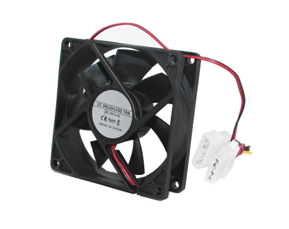 Кулер для корпуса 80 mm GTL, система охлаждения для пк, вентилятор ком