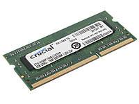 Память SO-DIMM 4Gb, DDR3, 1600 MHz (PC3-12800), Crucial, 1.35V (CT51264BF160BJ)