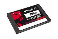 SSD 256Gb, Kingston SSDNow KC400, SATA3, 2.5', MLC, 550/540 MB/s (SKC400S37/256G)