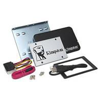 SSD 480Gb, Kingston SSDNow UV400, SATA3, 2.5', TLC, 550/500 MB/s + комплект для установки (SUV400S3B7A/480G)