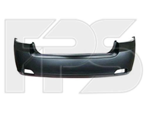 Задний бампер Chevrolet Epica 07-09 черн. (FPS)